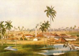 [MD3092] CPM - CUBA - INGENIO AZUCARERO - GRABATO SIGLO XIX - Non Viaggiata - Cuba