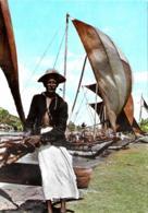 [MD3085] CPM - SRI LANKA CYLON - FISHERMEN WITH FISHING BOATS NEGOMBO - Non Viaggiata - Sri Lanka (Ceylon)