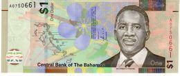 Bahamas P.new 1 Dollar 2017 Unc - Bahamas