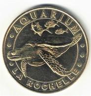 Monnaie De Paris 17.La Rochelle - Aquarium 2 Tortue Imbriquée 2008 - 2008