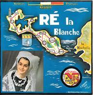45T-LONGUE DUREE-1972-VDS-RE La BLANCHE-Groupe Folklorique-Les MAGAYANTS-DANSES De L ILE De RE-NEUF LUXE-RARE - 45 T - Maxi-Single