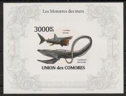 Comores - 2009 - Bloc BF N°Yv. 265 - Faune Marine - Non Dentelé / Imperf - Neuf Luxe ** / MNH / Postfrisch - Cote YT 21€ - Mammifères Marins