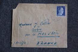 Timbre Sur Lettre D'ALLEMAGNE Vers FRANCE  ( Cachet VERSO : GEOFFNET ). - Allemagne