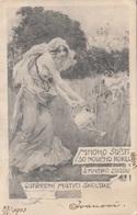 1903 KÜNSTLERKARTE, Erotische Künstlerkarte Gel.1904 - Künstlerkarten