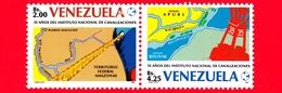 Nuoco - MNH - VENEZUELA - 1987 - 35 Anni Dell'Istituto Nazionale Per La Costruzione Di Canali - 2.00+4.25 - Venezuela