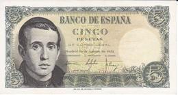 BILLETE DE ESPAÑA DE 5 PTAS DEL 16/08/1951 SIN SERIE (SIN CIRCULAR-UNCIRCULATED) (BANKNOTE) - [ 3] 1936-1975 : Régimen De Franco