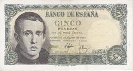 BILLETE DE ESPAÑA DE 5 PTAS DEL 16/08/1951 SERIE C  EN CALIDAD EBC  (XF)   (BANKNOTE) - [ 3] 1936-1975 : Régimen De Franco