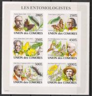 Comores - 2009 - N°Yv. 1333 à 1338 - Papillons - Non Dentelé / Imperf. - Neuf Luxe ** / MNH / Postfrisch - Papillons