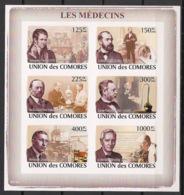 Comores - 2009 - N°Yv. 1375 à 1380 - Médecins - Non Dentelé / Imperf. - Neuf Luxe ** / MNH / Postfrisch - Medicina