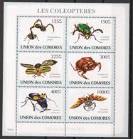 Comores - 2009 - N°Yv. 1423 à 1428 - Coléoptères - Neuf Luxe ** / MNH / Postfrisch - Insectes