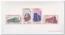Centraal Afrika 1963, Postfris MNH, Trains - Centraal-Afrikaanse Republiek