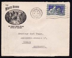 A6160) Frankreich France Werbebrief White Horse V. Paris 5.6.25 N. Berlin - Storia Postale