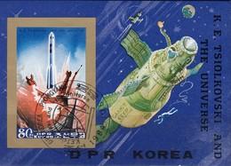 Nord KOREA 1984 - MiNr. 2505 Block 185 - Raumfahrt