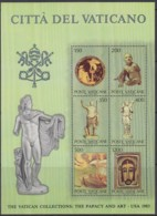 VATIKAN  Block 7, Postfrisch **, Ausstellung Vatikanischer Kunstwerke In Den Vereinigten Staaten 1983 - Blocks & Kleinbögen