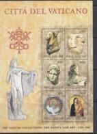 VATIKAN  Block 6, Postfrisch **, Ausstellung Vatikanischer Kunstwerke In Den Vereinigten Staaten 1983 - Blocks & Kleinbögen