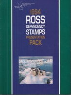 ROSS DEPENDENCY 21-30, Postfrisch **, In Präsentationsmappe, Tiere Der Antarktis, 1994 - Ross-Nebengebiet (Neuseeland)