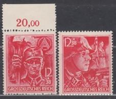 DR 909-910, Postfrisch **, Parteiorganisationen, 1945 - Nuevos