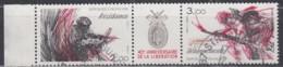 FRANKREICH 2444-2445, Dreierstreifen, Gestempelt, 40. Jahrestag Der Befreiung., 1984 - France