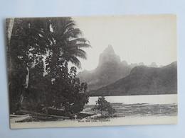 C.P.A. : TAHITI : Le Pic Moua Roa , Opunohu - Tahiti