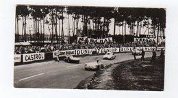 Avr19   84569    Photo 24 H Du Mans 1954  Accident Au Tertre Rouge  Pub Biscottes Dreux Le Mans - Le Mans