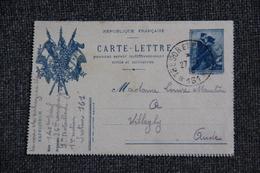 Militaria - Carte Lettre, 1916. - Cartes De Franchise Militaire