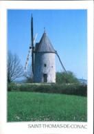 17 - Saint Thomas De Canac : Le Moulin à Vent De Conac - Moulins à Vent