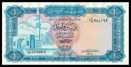# # # Sehr Seltene Banknote Libyen (Libya) 1 Dinar 1972 # # # - Libyen