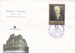 RAMON J CARCANO (1860-1946)-FDC 1997 MERCEDES - BLEUP - Agricoltura