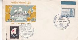 PRIMER VIAJE DE VAPOR HOLLAND AMERIKA LIJN HALVE MAEN SS ROTTERDAM CONFRATERNIDAD AMERICANA 1960 BUENOS AIRES - BLEUP - Agricoltura