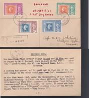 "*MAURITIUS 1948 - BUSTA FDC ""CENTENARIO PRIMI FRANCOBOLLI DI MAURITIUS"". - Stamps"