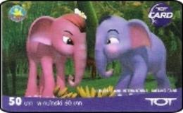Thailand Phonecard TOT  New Nr. 213 Elefant Elephant - Thailand