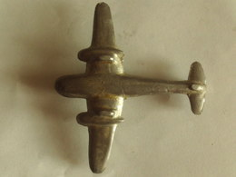Jouet Ancien Avion  7.5 X Ailes 8 Cm En Metal - Giocattoli Antichi