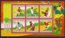Comores - 2010 - N°Yv. 2059 à 2064 - Football WM 2010 - Neuf Luxe ** / MNH / Postfrisch - Coppa Del Mondo