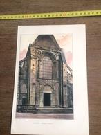 1901 LE MANS CATHEDRALE - Vecchi Documenti
