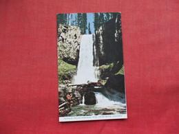 Tumalo Falls Cascade Mts Near Bend    Oregon > Ref 3295 - Stati Uniti