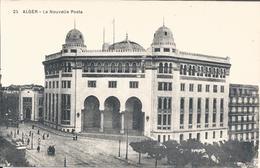 CPA ALGER - LA NOUVELLE POSTE - Algeri
