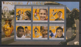Comores - 2010 - N°Yv. 2113 à 2118 - JO Athens / Olympics - Non Dentelé / Imperf. - Neuf Luxe ** / MNH / Postfrisch - Ete 2004: Athènes