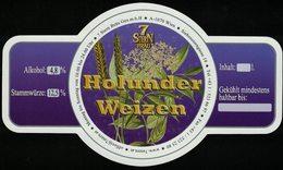 Autriche Etiquette Bière Beer Label 7 Stern Bräu Holunder Weizen - Bière