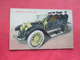 Police  Antique Auto  Flying Squadron Of Detroit Michigan > Ref 3295 - Police - Gendarmerie