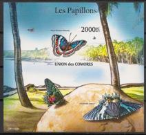 Comores - 2011 - Bloc BF N°Yv. 295 - Papillons - Non Dentelé / Imperf. - Neuf Luxe ** / MNH / Postfrisch - Schmetterlinge