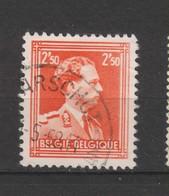 COB 1005 Oblitération Centrale WAARSCHOT - 1936-1957 Offener Kragen