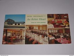 Refboite84    - Hotel Restaurant Au Relais Fleuri Le Vieux Bourg Miniac Morvan - France