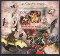 Comores - 2011 - Bloc BF N°Yv. 299 - Chauve-souris - Neuf Luxe ** / MNH / Postfrisch - Chauve-souris