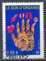 France -  Don D'organes YT 3677 Obl. - France