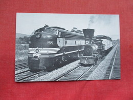 Erie E 8 #822  & B&O William Mason > Ref 3295 - Trains