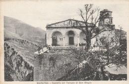 MARATEA - CASTELLO COL TEMPIO DI SAN BIAGIO - Potenza
