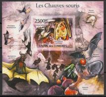 Comores - 2011 - Bloc BF N°Yv. 299 - Chauve-souris - Non Dentelé / Imperf. - Neuf Luxe ** / MNH / Postfrisch - Chauve-souris