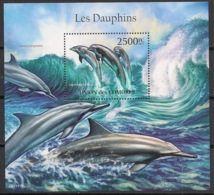 Comores - 2011 - Bloc BF N°Yv. 302 - Dauphins - Neuf Luxe ** / MNH / Postfrisch - Dauphins