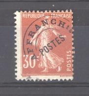 0ob 050  -  France  -  Préos  :  Yv  58  (*) - 1893-1947