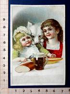 CHROMO ..CHOCOLAT PAYRAUD.....LE REPAS DES ENFANTS ....QUI FAIT ENVIE AU CHIEN...... - Cioccolato
